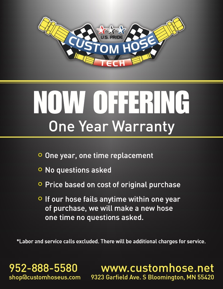 ONE YEAR WARRANTY CHT